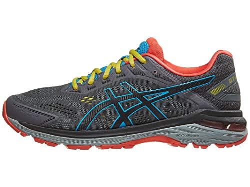 ASICS Men's GT-2000 7 Trail Running Shoes, 9.5M, Dark Grey/Black