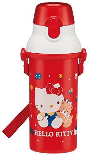 Patinador Sanrio Hello Kitty One Touch botella de agua 80de PSB5SAN de Japón