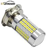 Ruiandsion 1pcs P26S LED lampadina da DC 6V luminosa eccellente 3030 66SMD chipset con la lampadina LED bianco 6000K proiettore per il motociclo della motocicletta faro