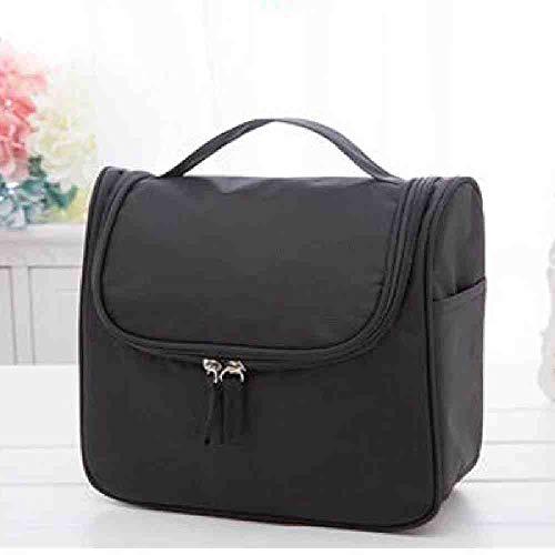 OYHBGK Multifonction Organizer Voyage Wash Bags Double Open Fold Wash Bag Original Nylon Imperméable De Voyage Cosmétique Organisateur Sac