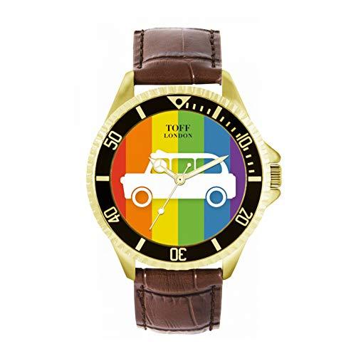 Toff London Reloj Taxi Blanco Multicolor de Toff London