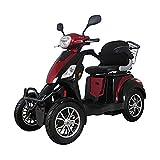 YWX Triciclo eléctrico para adultos, plegable, tres ruedas eléctricas para bicicleta de montaña, hasta 30 km/h, 25 km/h, batería de litio de tres velocidades, modos Big Wheels Sport