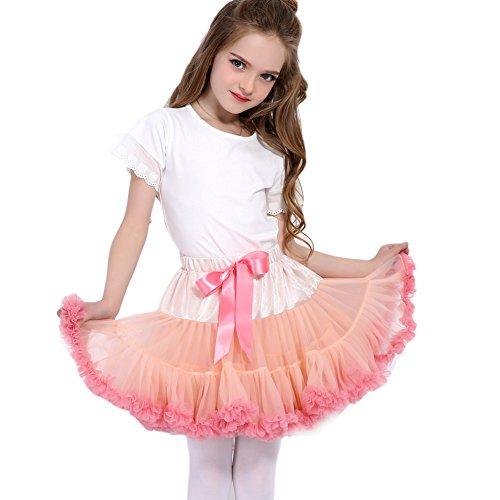 FOLOBE Baby Girl's Flauschige Pettiskirt Kleinkind Kid Petticoat Tutu