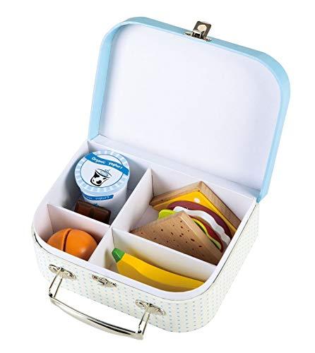 Lelin Wooden Sandwich pretend play food set - Pretend play toy food -...