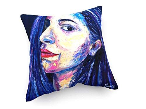 weewado Emerson Marreiros - Serie Eloane Marreiros 30x30 cm Cojines del sofá - Arte, Imagen, Pintura, Foto - Pop Art