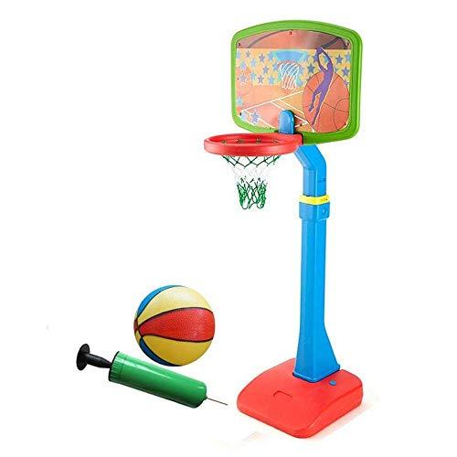 Giow Kinder Basketballkorb und Ständer System für Jungen Mädchen Höhe einstellbar 105-230 cm Basketball Set Spielzeug für Kinder Kleinkinder Indoor Outdoor Sportspiele