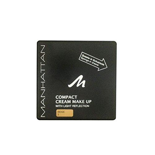 Manhattan 18223 Compact Cream Makeup, beige