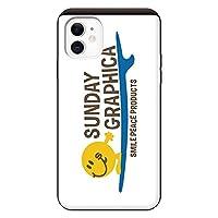 iPhone11 iPhoneケース ハードケース [カード収納/耐衝撃/薄型] Surf011 (ホワイト) スマホケース 携帯電話用ケース アイフォンケース CollaBorn surf junky (サーフジャンキー)