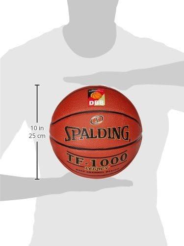 7 EU Bal/ón de Baloncesto Unisex Color Naranja Spalding Euroleague TF-500 In//out Ball 84002Z 84002Z/_7
