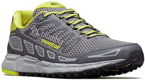 Columbia Bajada III, Zapatillas de Running para Asfalto para Hombre, Gris (Monument, Zour 36), 43 EU
