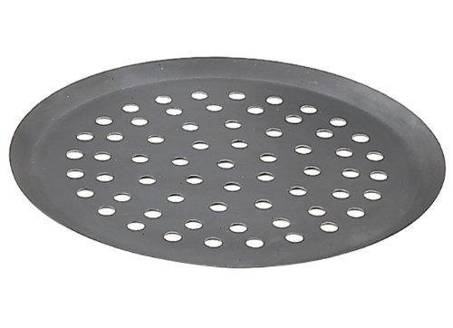De Buyer - 5353.32 - Gelochtes pizzablech aus starkem blaustahl - loch 10 mm - 32cm