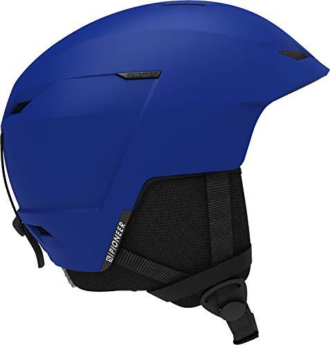 Salomon Pioneer LT Access, Casco da Sci e da Snowboard, Regolabile Uomo, Blu (Race Blue), S (53-56 cm)
