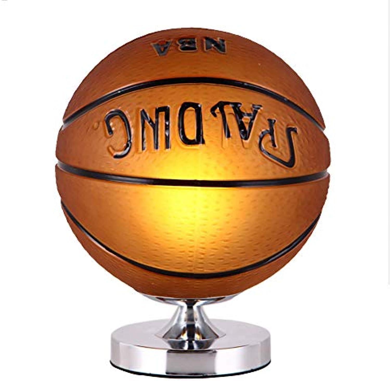 Tischlampe Nachttischlampe Schreiben Lesen Tischlampe Glasball Persnlichkeit Fuball Basketball Kinder,Basketball