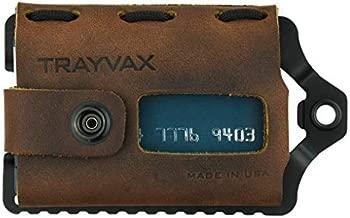 Trayvax Element Wallet (Black | Mississippi Mud Leather)