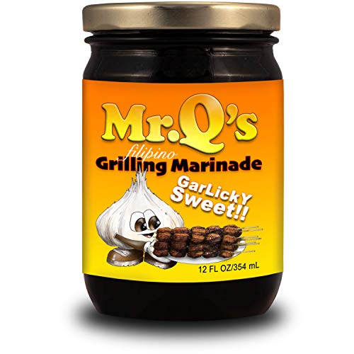 Mr. Q's Filipino All Purpose Cooking and Grilling Marinade Garlicky Sweet Barbecue 12oz