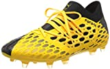 PUMA Future 5.3 Netfit FG/AG, Chaussures de Football Homme, Ultra Yellow Black, 43 EU