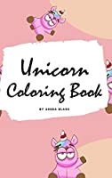 Unicorn Coloring Book for Kids: Volume 5 (Small Hardcover Coloring Book for Children)
