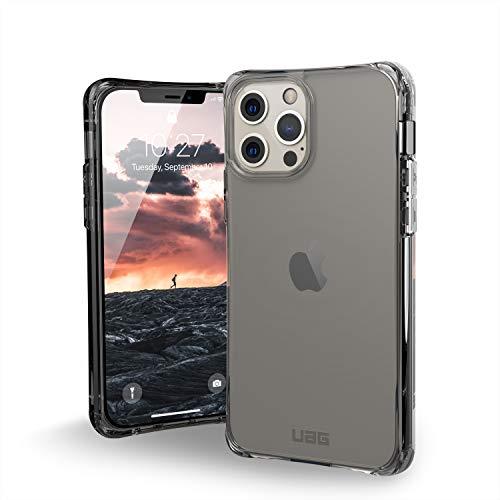 """Urban Armor Gear Plyo Funda de protección Apple iPhone 12 / iPhone 12 Pro (6,1"""") [Cubierta Compatible Carga inalámbrica, Esquinas Suaves, Funda Resistente a los Golpes] Ice (Transparente)"""