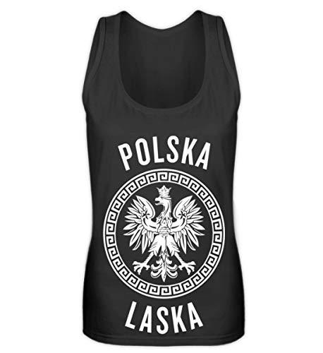 Hochwertiges Frauen Tanktop - Polen Frauen Trikot Emblem Adler Wappen Fahne Polnische Flagge Polska Laska Geschenk