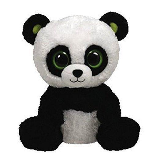 Ty Inc Beanie Boo Plush Stuffed Animal Bamboo Panda by Ty Inc.