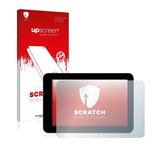 upscreen Protector Pantalla Compatible con Mediacom SmartPad 8.0 HD S2 M-MP871S2 Película Protectora – Transparente, Anti-Huellas