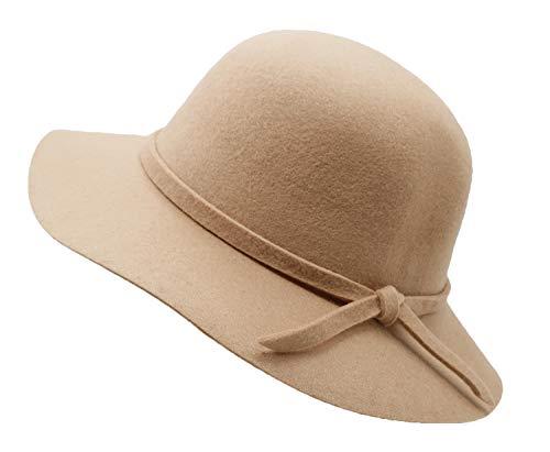 Wide Brimmed Bowler Hat