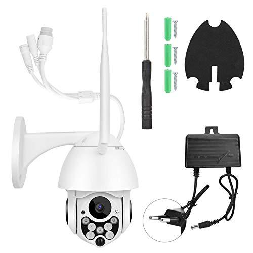 Cámara de seguridad, cámara WiFi 100-240V HD 1080P, rotación vertical horizontal(100-240V European standard)