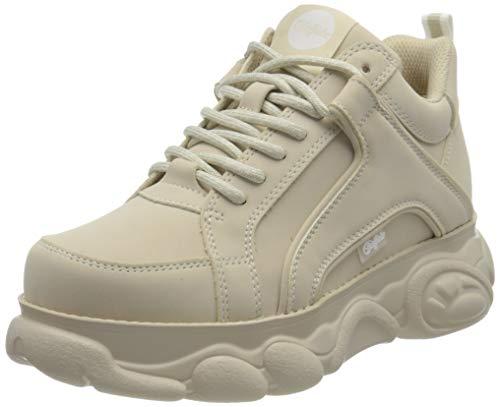 Buffalo Damen CLD Corin Sneaker, Cream, 39 EU