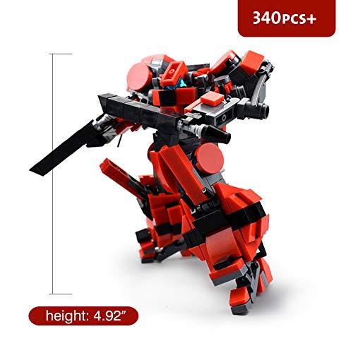 LetMay Original Series Fighting Man MOC Frame Mech Building Blocks ...