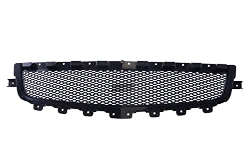 JustDrivably Replacement Parts Front Bumper Cover Grille Lower Black Grill Shell Compatible With Chevrolet Malibu 2008-2012 LS LT LTZ HYBRID