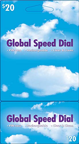 Prepaid Phone Card, Calling Card to Call International and Domestic, No Connection Fee, Pinless International and Domestic phonecard ($20)