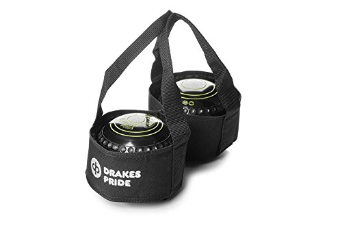 DrakesPride Tasche für 2Bowls-Kugeln schwarz schwarz