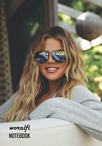 Notebook: Khloe Kardashian Medium College Ruled Notebook 130 pages Lined 7 x 10 in (17.78 x 25.4 cm)