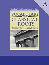 vocabulary from classical roots answer key