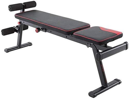 YUMUO Banco de pesas ajustable Banco de entrenamiento ajustable Sit-up Board Butbell taburete multifunción Shaper plegable Banco de pesas ayuda Fitness equipo abdominal
