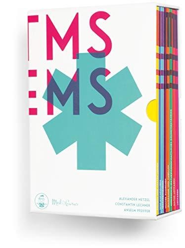 Kompendium zur TMS & EMS Vorbereitung 2021 I Vorbereitung auf den Medizinertest in Deutschland und der Schweiz I Buchbox mit 9 Lehrbüchern inkl. Leitfaden, Übungsaufgaben und Lernplan