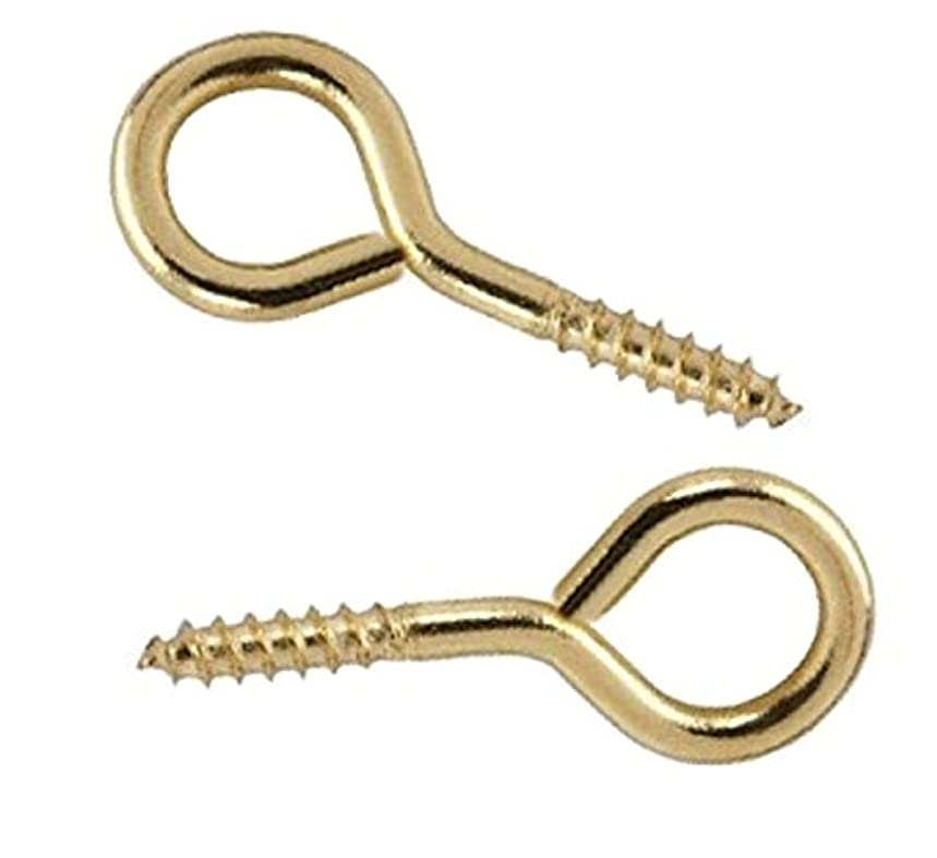 Bulk Hardware BH02309 Picture Frame Screw Eye, 1/2