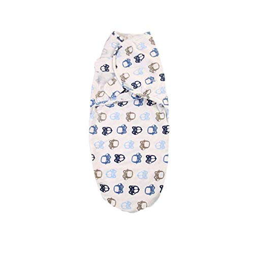 Su-xuri - Manta para bebé o nacimiento, 100 Coon, manta de envolver para bebé de 0 a 6 meses