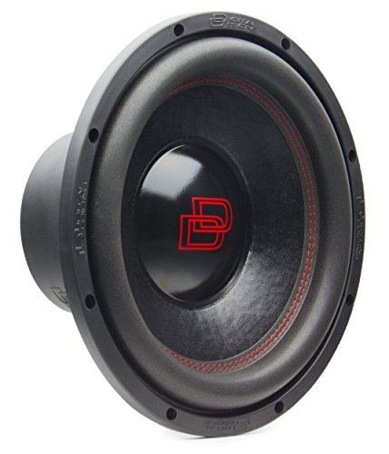 Subwoofer DD 512D2 30 cm 2x2Ω 1200 Watt Max auto spl Digital Designs Red Line audio digital design