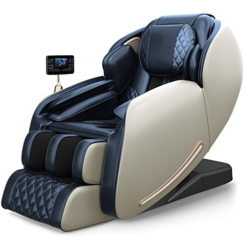 Real Relax 2021 Massage Chair, Zero Gravity SL Track Massage Chair, Full Body Shiatsu Massage...