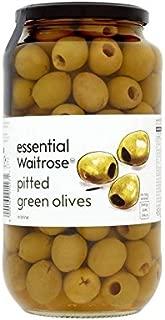 Aceitunas Verdes Sin Hueso Waitrose 935G - Paquete de 4