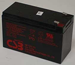CSB GP1272F2 - 12 Volt/8.0 Amp Hour Sealed Lead Acid Battery with 0.250 in Fast-on Terminals