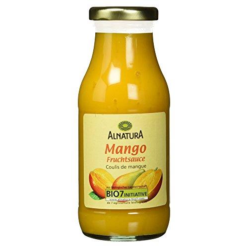 Alnatura Bio Fruchtsauce Mango, 6er Pack (6 x 250 ml)