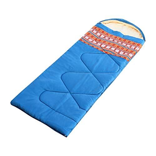 TAAMBAB Imperméable Compact Sac de Couchage - Rip-Stop Remplissage Chaud Sacs de Couchage pour Outdoor Activities Confort & Léger