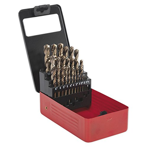 Sealey AK4702 Metric Cobalt Drill Bit Set (25 Pieces)
