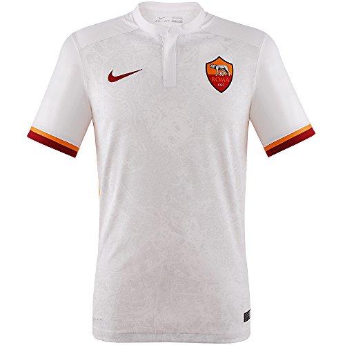 NIKE 2ª Equipación A.S. Roma 2015-2016 - Camiseta Oficial, niños de 8 años