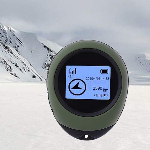 HaiMa Coche Mini Localizador Gps Montañero Dispositivo De Seguimiento Al Aire Libre Coche Gps Tracker - Ejército Verde China