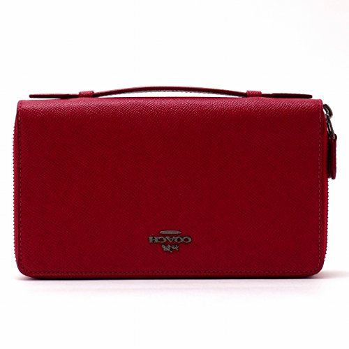 [コーチ] COACH 財布 メンズ セカンドバッグ ポーチ 長財布 パスポートケース 23334QBDN8 [アウトレット品] [並行輸入品]