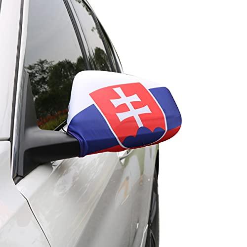 Sonia Originelli Auto Außenspiegel Fahne Set Slowakei Slovakia Bikini Flagge EM WM