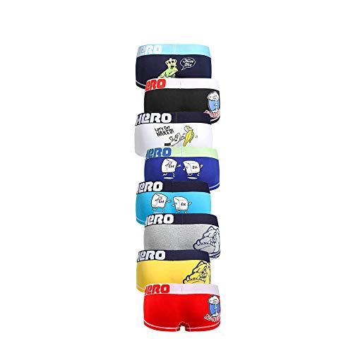 Malloom® PINK Heroes Herren Pouch Boxer Unterhose Schlüpfer Unterhose Shorts Unterwäsche  Bag Printing Herren Boxershorts (XL, 8 Stück)